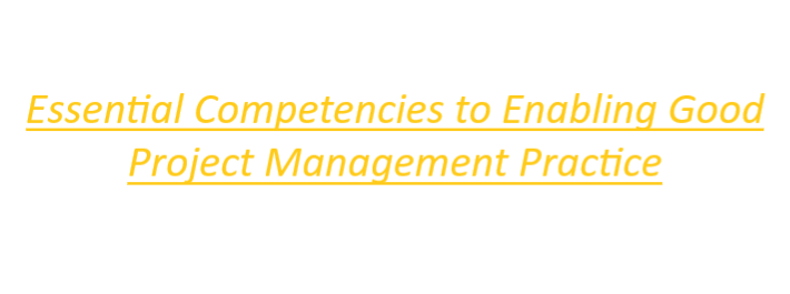 Hyperlink to essential competencies of project management